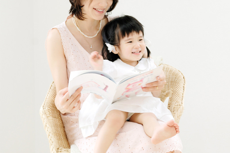子育て中の女性と不眠症